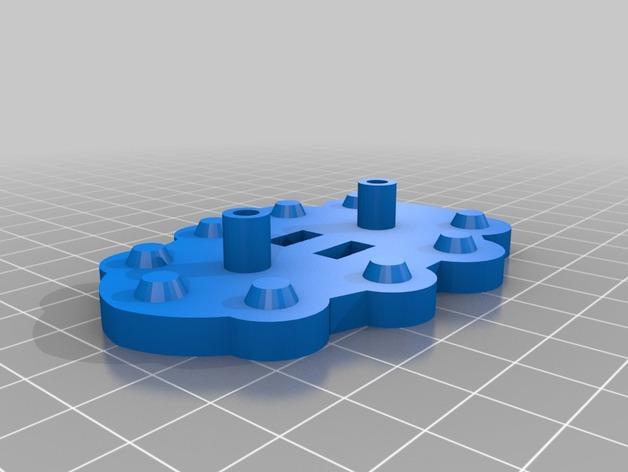 蜘蛛玩具 3D模型  图4