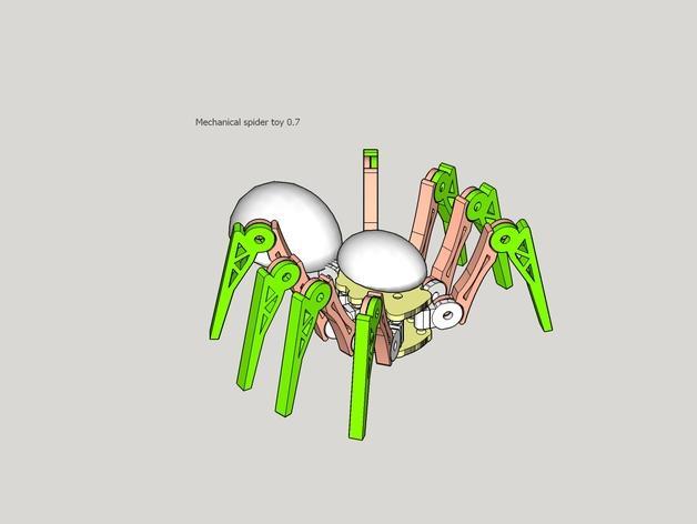 蜘蛛玩具 3D模型  图3