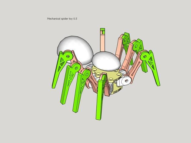 蜘蛛玩具 3D模型  图11