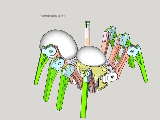 蜘蛛玩具 3D模型  图12