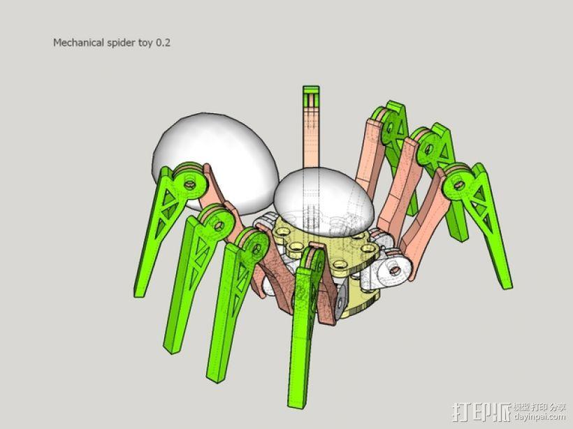 蜘蛛玩具 3D模型  图15