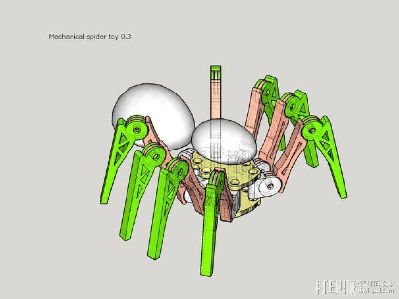 蜘蛛玩具 3D模型  图14