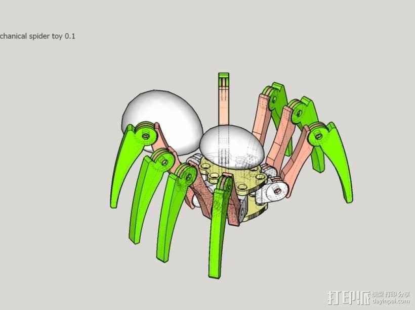 蜘蛛玩具 3D模型  图16