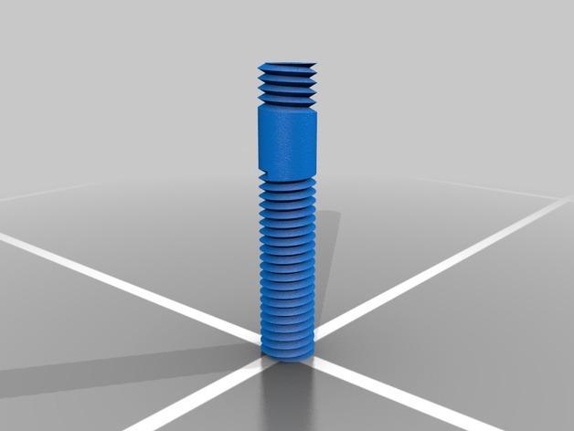 螺丝状储钱罐 3D模型  图2
