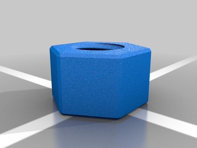 螺丝状储钱罐 3D模型  图3