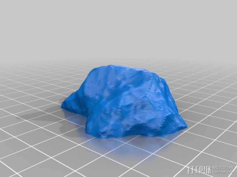微型小行星 3D模型  图4