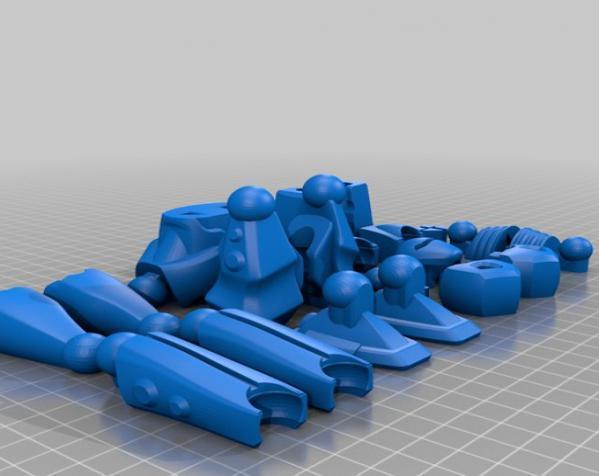 Vertex机器人 3D模型  图2