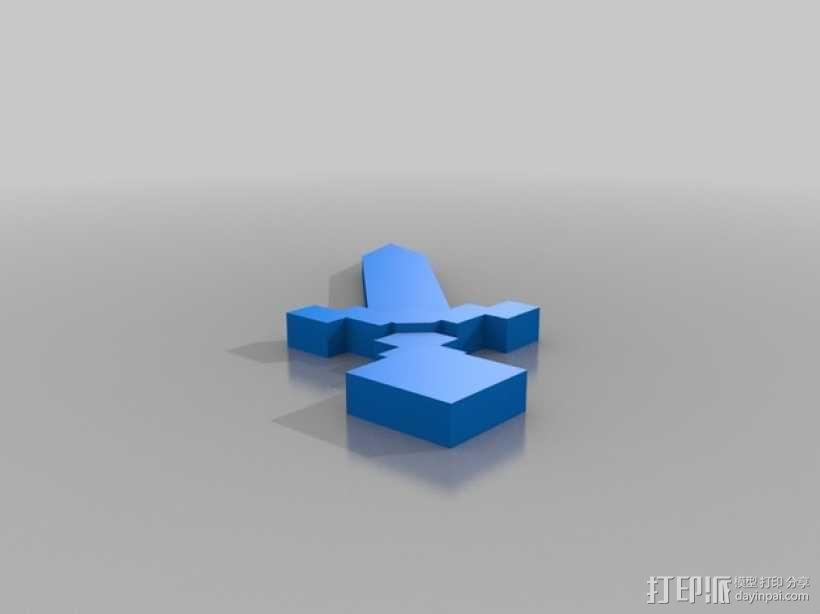 末影人骨架 3D模型  图6
