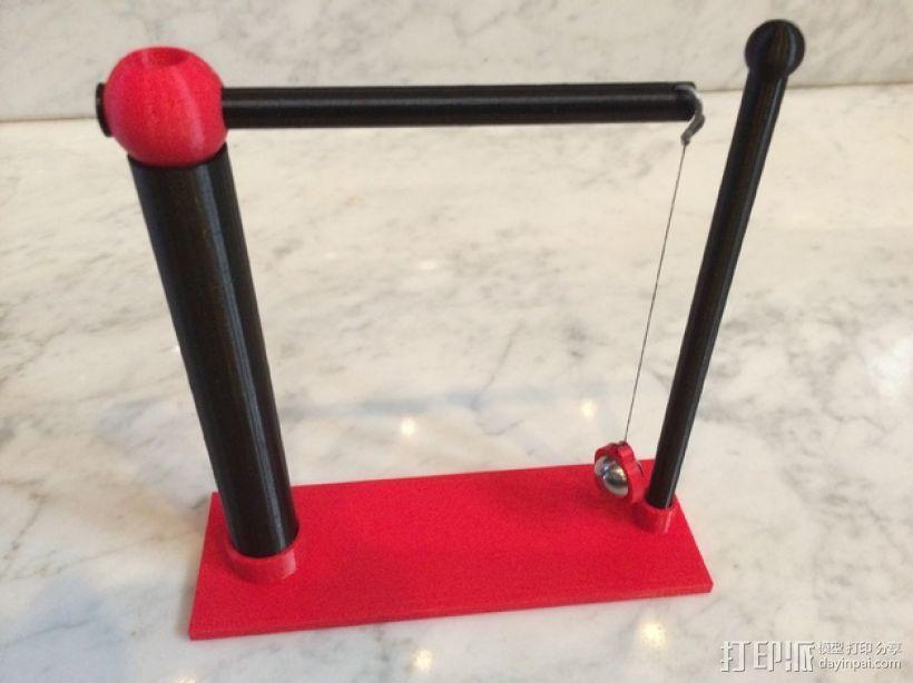摆球 3D模型  图1