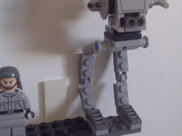 乐高玩偶站架 3D模型  图4