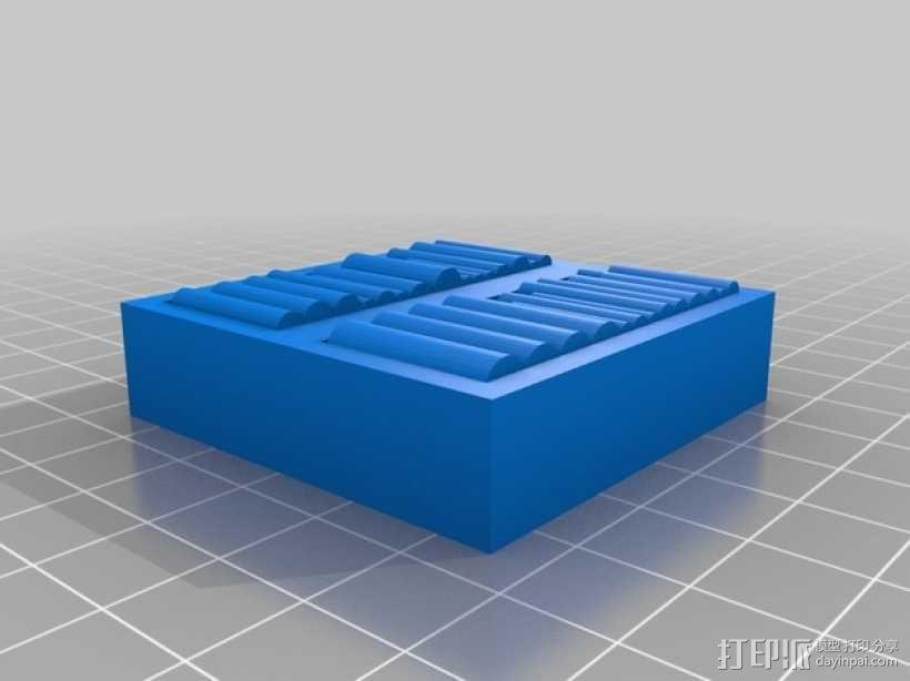 迷你书架 3D模型  图2