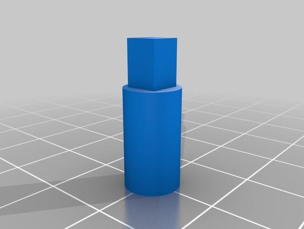 轧辊轮 3D模型  图2