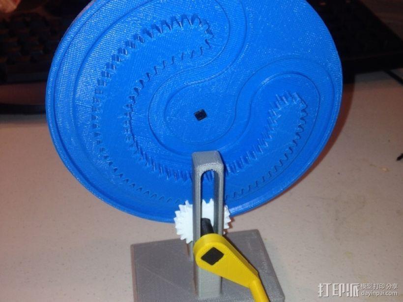 轧辊轮 3D模型  图1