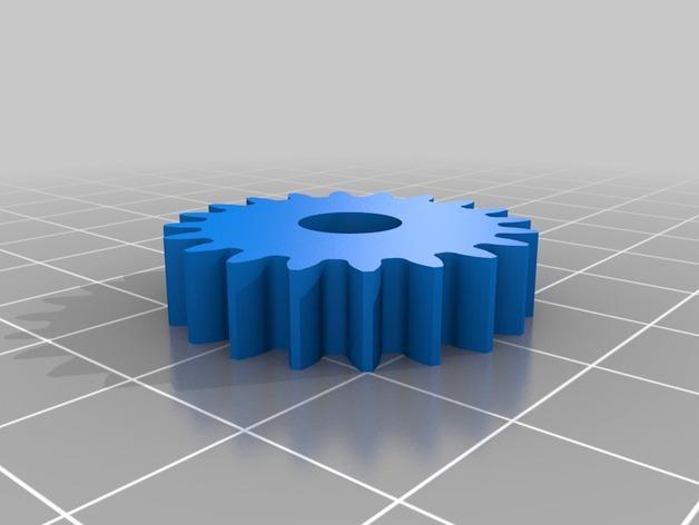 轧辊轮 3D模型  图6