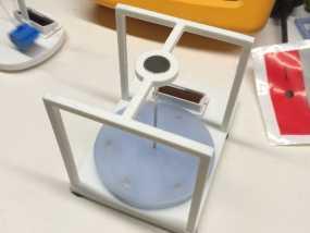 太阳能电动马达 3D模型