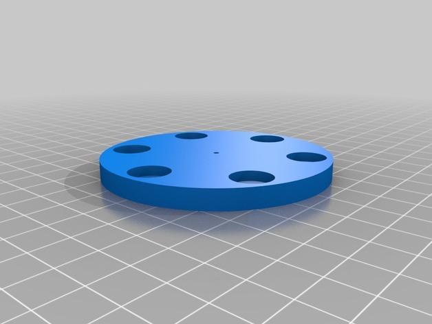 太阳能电动马达 3D模型  图4