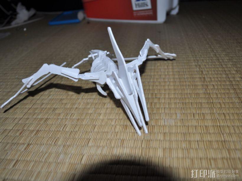 恐龙骨架模型 3D模型  图5