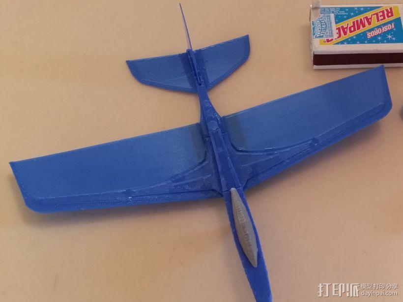 滑翔机 3D模型  图2