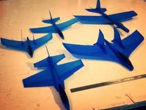 滑翔机 3D模型