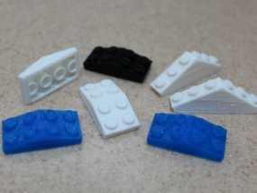 乐高方块 3D模型