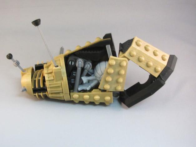 戴立克变压器 3D模型  图8