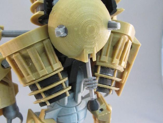 戴立克变压器 3D模型  图13