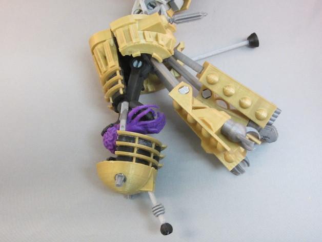 戴立克变压器 3D模型  图11