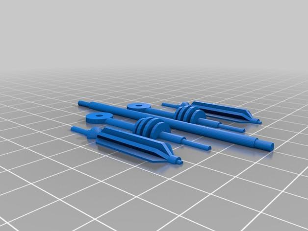 戴立克变压器 3D模型  图43