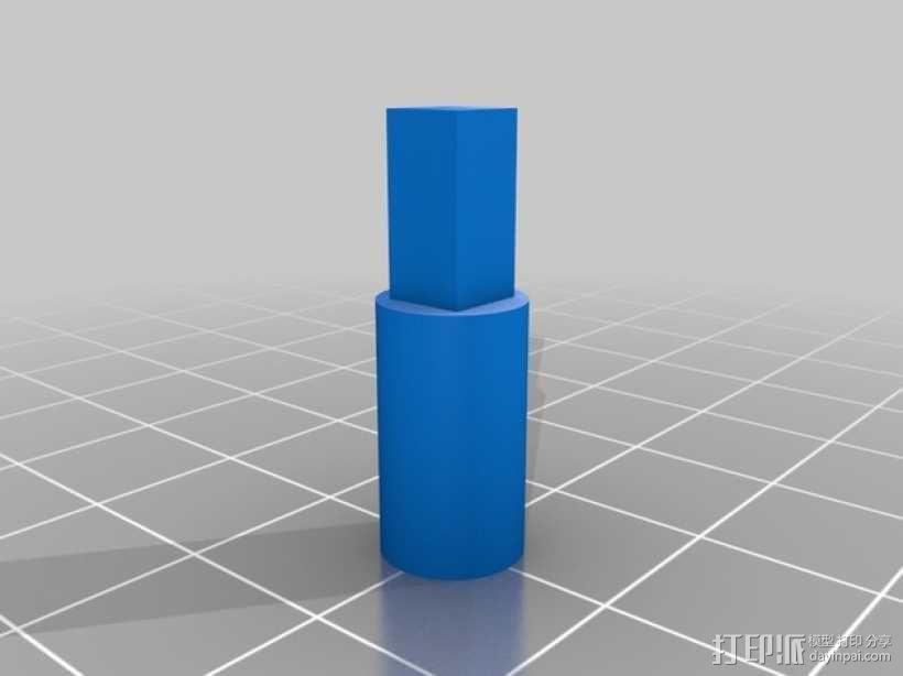 滚筒齿轮减速器 3D模型  图2