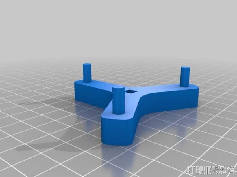 滚筒齿轮减速器 3D模型  图5