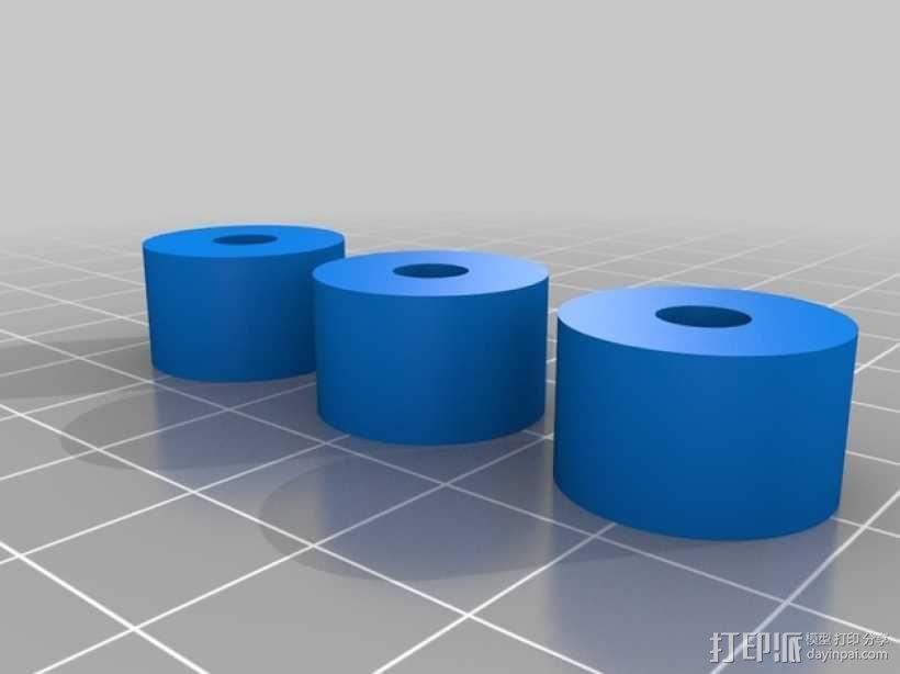 滚筒齿轮减速器 3D模型  图7