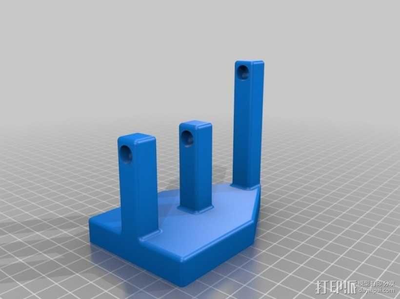 滚筒齿轮减速器 3D模型  图8