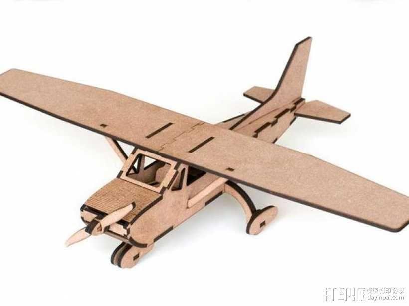 赛斯纳飞机 3D模型  图1
