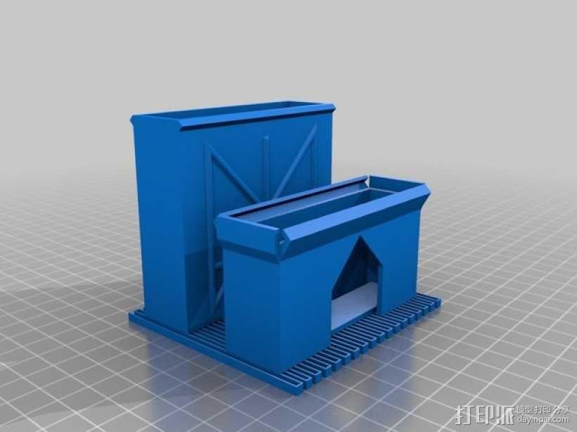 定制化卡片盒 3D模型  图6