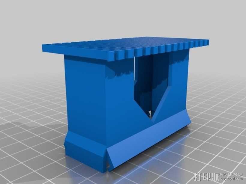 定制化卡片盒 3D模型  图5