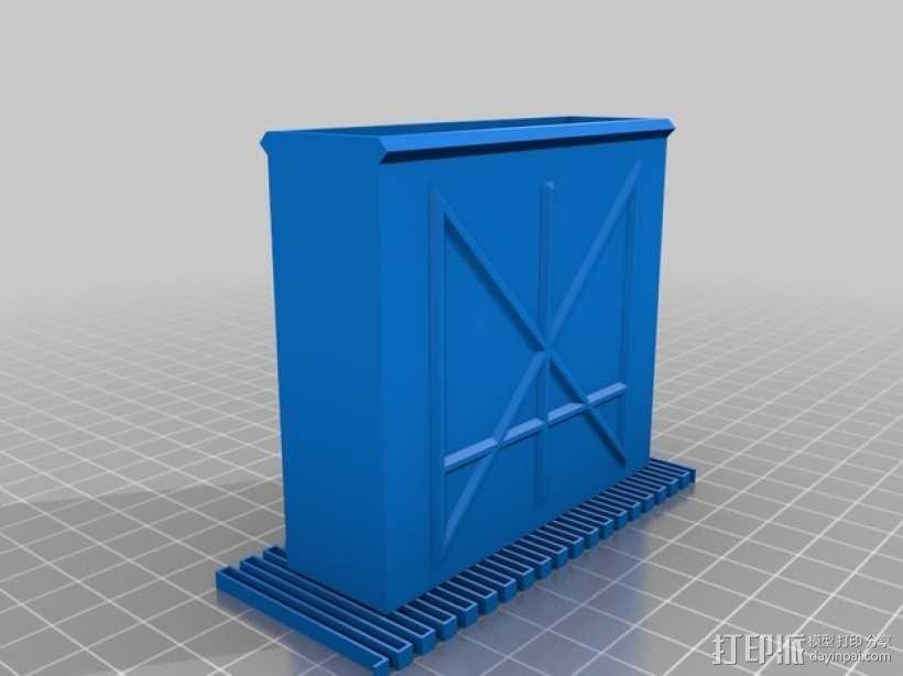 定制化卡片盒 3D模型  图9