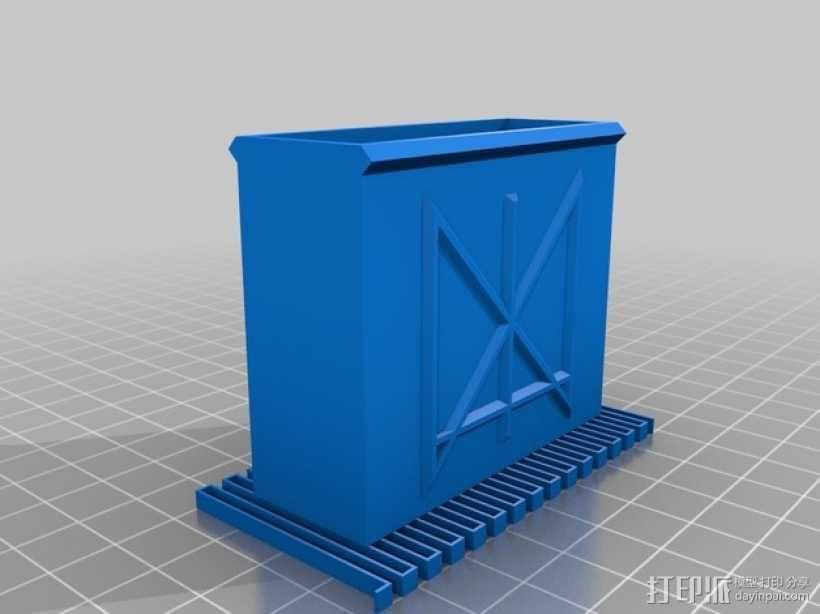 定制化卡片盒 3D模型  图8