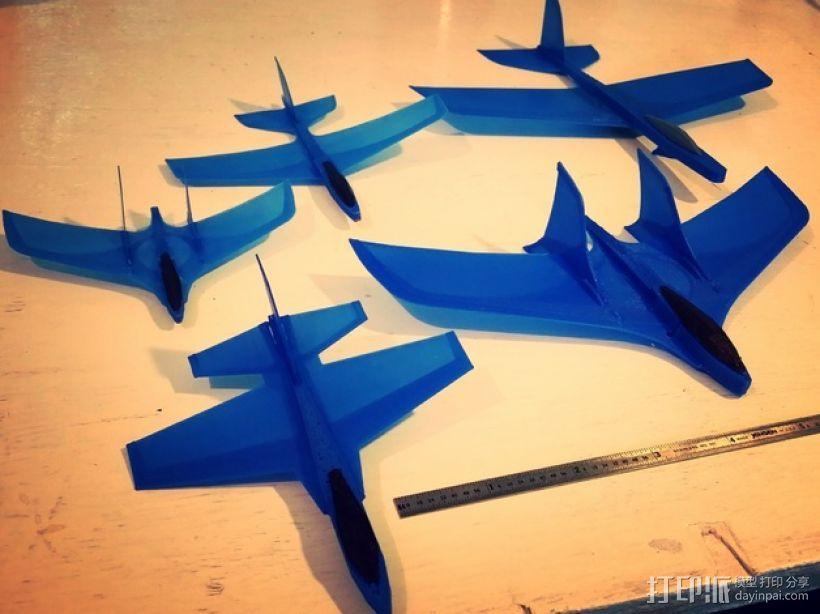 F47滑翔机 3D模型  图4