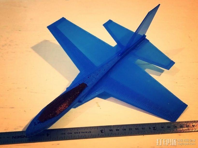 F47滑翔机 3D模型  图2