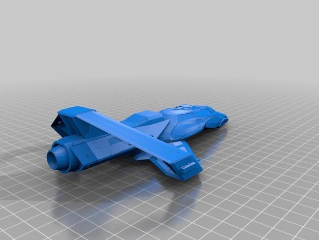 宇宙飞船模型 3D模型  图3