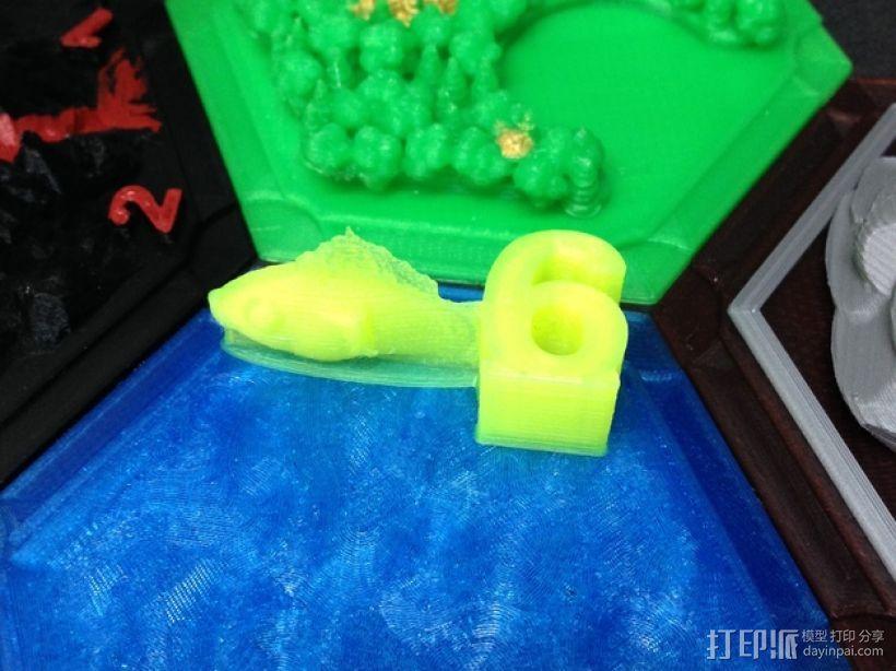 金鱼臂章 3D模型  图7