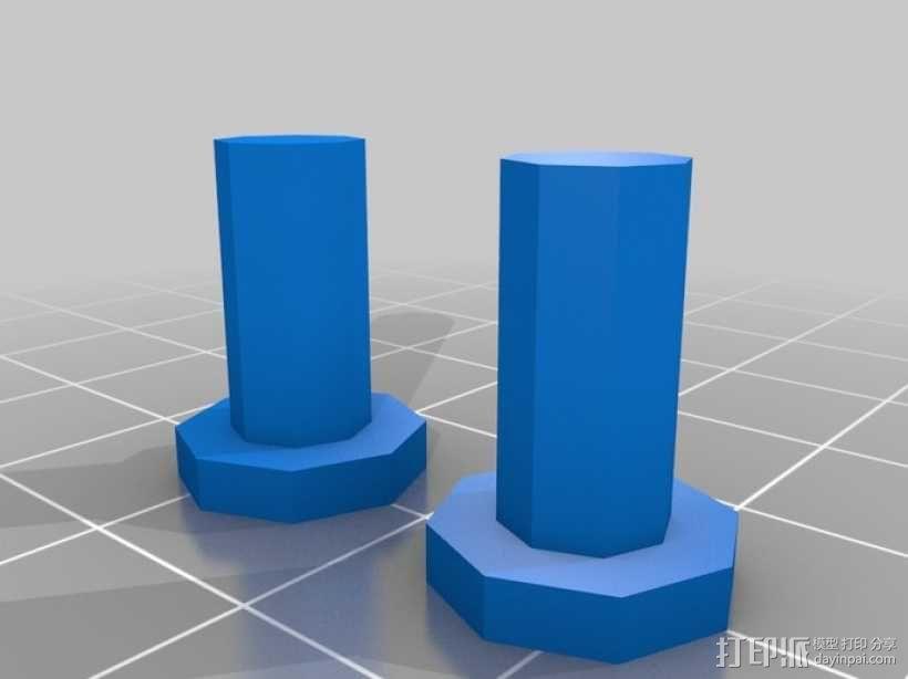 巨型乐高玩偶 3D模型  图2