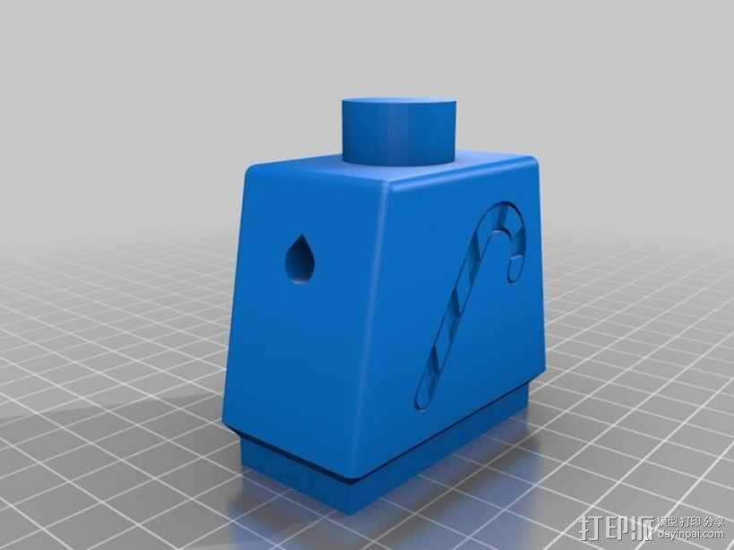 巨型乐高玩偶 3D模型  图4