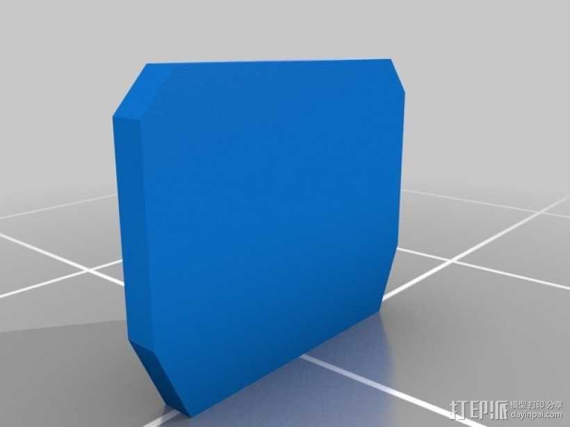 战争游戏标志杆 3D模型  图2