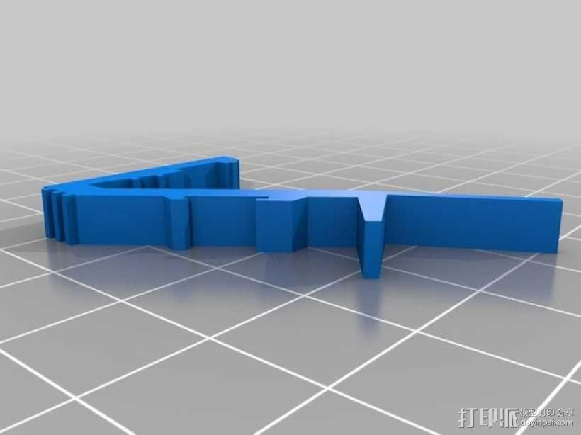 战争游戏标志杆 3D模型  图3