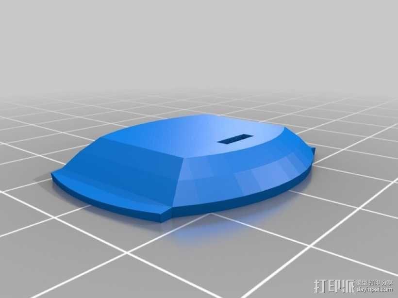 战争游戏标志杆 3D模型  图4