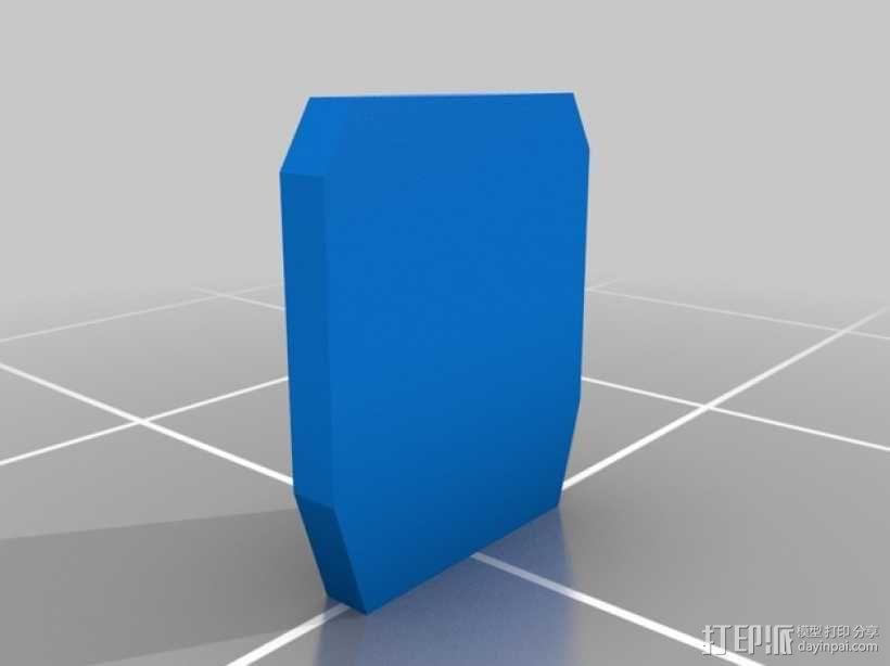 战争游戏标志杆 3D模型  图5