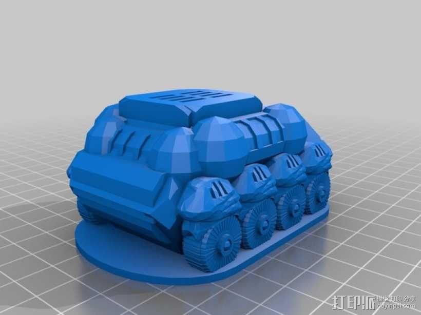 Wayfarer巡路车模型 3D模型  图4