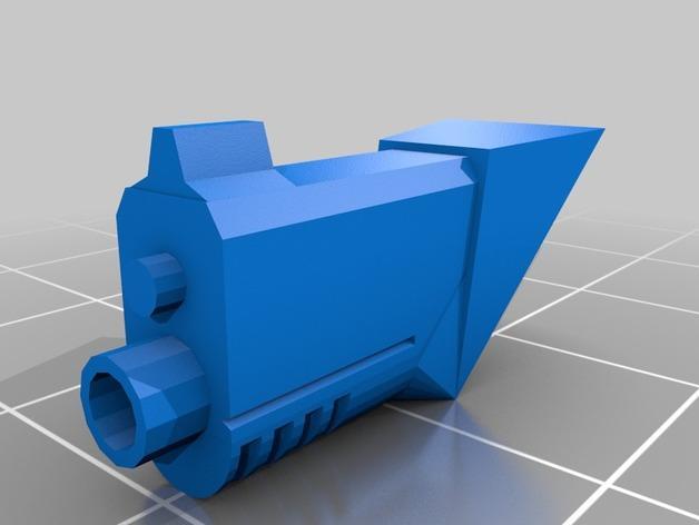 斯芬克斯导弹发射器 3D模型  图2