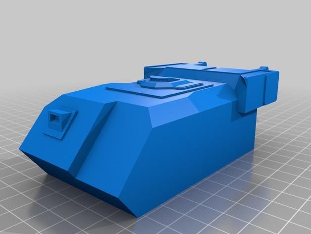 斯芬克斯导弹发射器 3D模型  图3